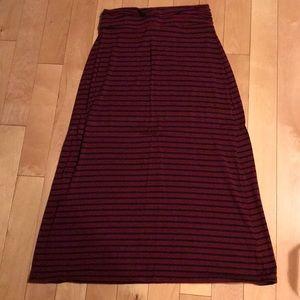 Jcrew maxi skirt